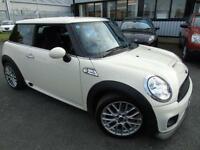 2010 Mini 1.6 Cooper JCW Works - White - LEATHER INTERIOR + Long MOT 2017!