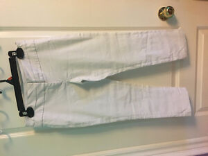 Stretchy White Pants