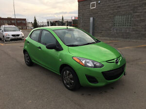 2013 Mazda 2. Still with Powertrain warranty till 03/26/2018