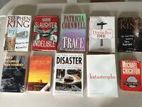 Livres en anglais (2$ chaque)