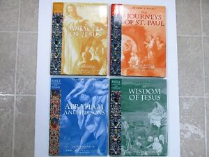 SET 4 BIBLE WISDOM FOR TODAY CHRISTIAN HARCOVER BOOKS