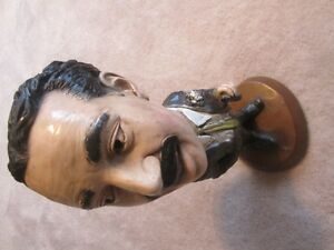 Vintage Groucho Marx ESCO Chalkware Plaster Figurine