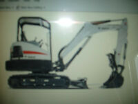 WANTED MINI EXCAVATOR