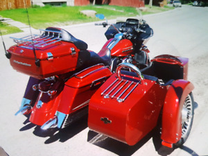 2012 Harley Road glide with sidecar