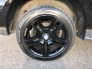 Mercedes-benz AMG 20 inch black rims 4 set without tires