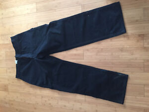 Carhartt black work pants 36 x34