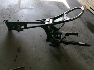 1982 Honda GL500 frame and swingarm with papers in my name