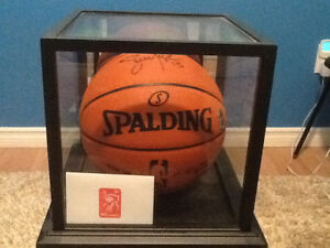 Steve Nash autographed game ball