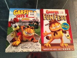 2 Garfield Movies on Dvds