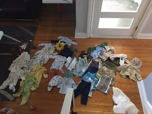 0-3 months clothes lot West Island Greater Montréal image 1