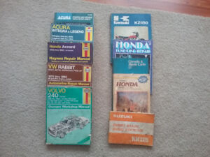 Assorted Repair Manuals