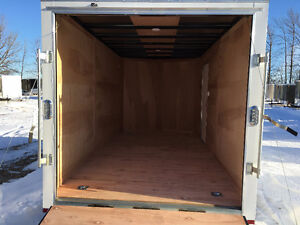 7x14 Enclosed Galvanized Trailer Made by Sure Trac Kitchener / Waterloo Kitchener Area image 4