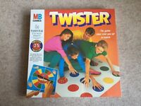 BNIB sealed 25th anniversary TWISTER game MB Games Rare Gift Xmas board game child