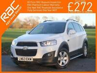 2013 Chevrolet Captiva 2.2 VCDI Turbo Diesel 184 BHP LT 6 Speed 4x4 4WD 7-Seater