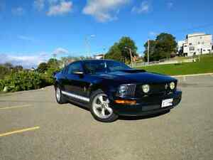 13k OBO. Black on black '08 Ford Mustang v6 4.0
