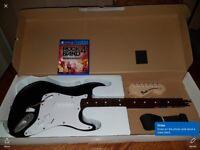 Rock band 4 game and guitar - £40