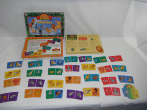 1993 Disney's The Lion King Circle of Life Dominoes Matching