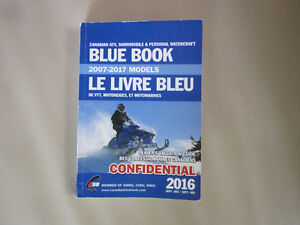 Blue Book, Snowmobiles, ATV's and Watercraft
