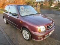 NISSAN MICRA 1.0 16v SE STUNNING ONE OWNER EXAMPLE ONLY 24000 MILES FROM NEW
