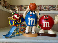 M&M Collectable Candy Dispensers!!