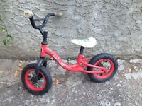 Peddle less toddler bike
