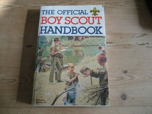 OFFICIAL BOY SCOUT HANDBOOK NORMAN ROCKWELL COVER BOY SCOUTS OF AMERICA SCOUTING