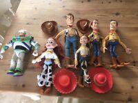 Toy story toys woody Jessie buzz