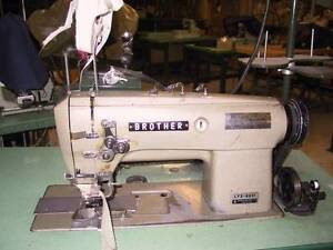 Brother  Placket , Industrial sewing machine