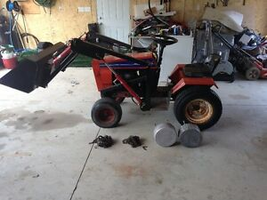$3200. case ingersoll frontend loader tractor compact OBO