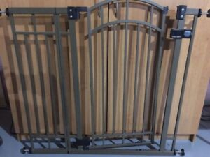 Baby or Pet Security Metal Gate - Extra Tall With Auto Close