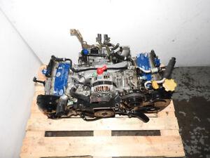 2002 2003 2004 2005 SUBARU IMPREZA WRX 2.0L TURBO ENGINE JDM EJ2