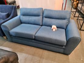 Brand New DFS Fabric Sofa In Denim RRP £599