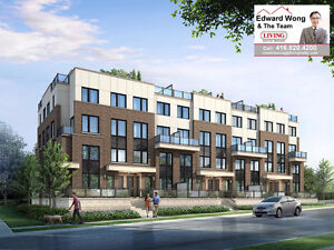 MARKET DISTRICT URBAN TOWNS IN PICKERING Modern Townhomes VVIP
