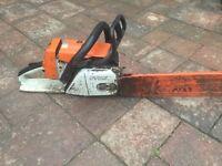 Stihl Ms260 petrol chainsaw