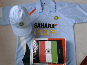 India flag T Shirt Size XL, Hat & kids blanket