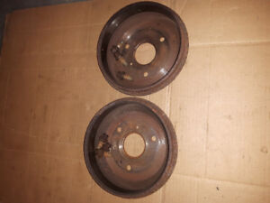 Smart Fortwo car's Rear Brake Drums.