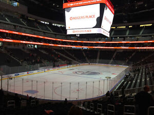 LOWER BOWL TO TONIGHTS GAME ROW 20!!!!!!