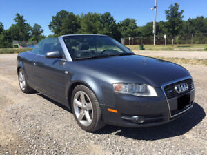 2008 Audi A4 3.2 Convertible AWD Certified New Tires $7900 OBO