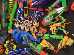 Arsenal  of NERF/DART guns
