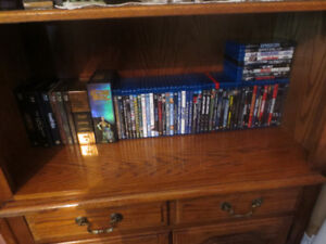 For sale is a used lot of Blu-ray discs 60