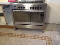 Baumatic Range cooker dual fuel (gas and electric)