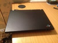IBM Thinkpad Laptop WINDOWS 7 -WIFI - DVD - OFFICE 2010