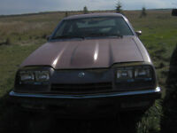 1976 Chev Monza Coupe Hatchback