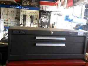 Kennedy two drawer tool chest. We sell used tools. Get a Deal!