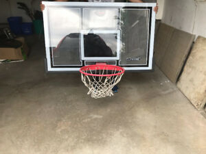 LifeTime Basket Ball Shatterproof BackBoard and Rims