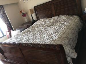 Designer Solid Wood bed