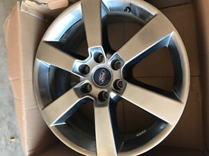 2017 Ford F-150 rims