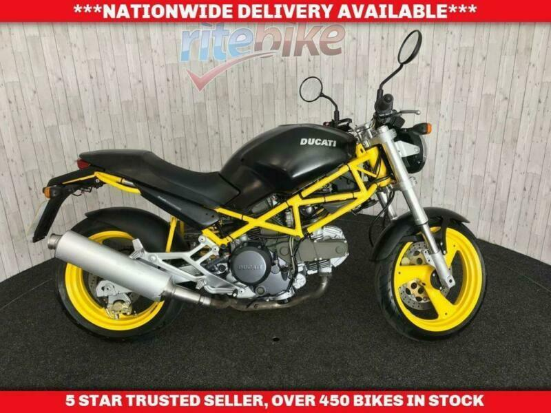 Ducati Monster 600 M Dark Monster Dark With A Full 12