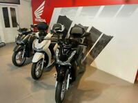 New Honda SH 125 Scooter 2021 with Keyless Smart Top Box