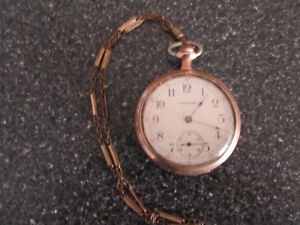 "A 2"" diameter Waltham pocketwatch with ceramic face and works v Gatineau Ottawa / Gatineau Area image 1"